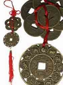 Wealth, protection & romance amulet for 2010 (Shi Dong Wu).